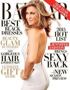 Jennifer Aniston on Harper's Bazaar