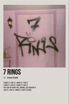 Ariana Grande Poster, Ariana Grande Lyrics, Ariana Grande Wallpaper, Ariana Grande Photos, Room Posters, Poster Wall, Image Cinema, Minimalist Music, Vintage Music Posters