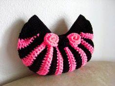 Sidney Artesanato: Bolsas de crochet ...pink