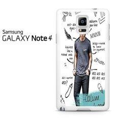 Calum Hood Samsung Galaxy Note 4 Case