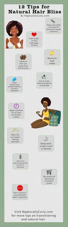 25 Natural Hair Care Tips & Tricks For Growing, Moisturizing   Gurl.com