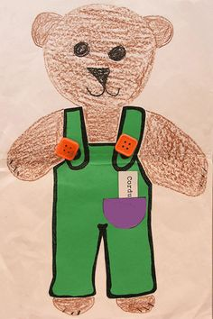 Corduroy The Bear Reading Craft