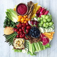 """Crudités Platter by @thedelicious """