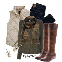 Puffy Vest - Polyvore