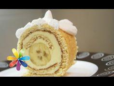 Десерты от Татьяны Литвиновой - банановые рулеты, штрудель, лимонные кексы, морковно-яблочный торт - Все будет хорошо - YouTube