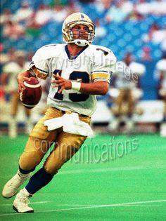 Tom Burgess Winnipeg Blue Bombers 1991. Photo F. Scott Grant Winnipeg Blue  Bombers 67e4eb6f8