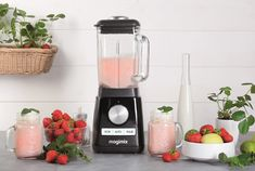 Milk Shakes, Smoothie Blender, Smoothies, Blender Magimix, Granita, Blenders, Coffee Maker, Chrome, Kitchen Appliances