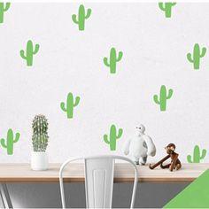 Cactus Vinyl Wall Decals www.topshelfdecor.com