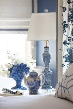 Rinfret LTD: Blue Bedrooms