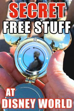 Secret Free Stuff at Disney World