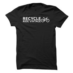 Recycle - Ride Vintage Mountain Bike T-Shirts, Hoodies, Sweaters
