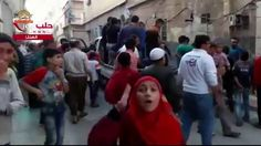 استمرار وحشیانه ترین حملات به مناطق مسکونی حلب–  ۲۲ مهر ۱۳۹۵