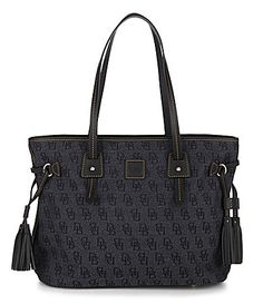 Dooney and Bourke Davis Tassel Shopper Bag #Dillards
