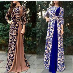 Batik Fashion, Abaya Fashion, Muslim Fashion, Women's Fashion Dresses, Stylish Dress Designs, Stylish Dresses, Casual Dresses, Hijab Evening Dress, Indian Gowns Dresses