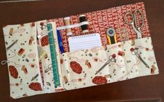 sewing kit - use your scraps of fabric from old projects!