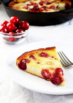 Gluten Free Cherry Clafoutis