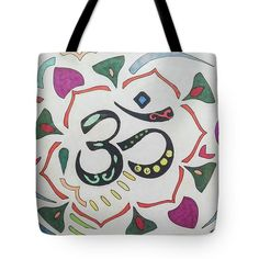 Tote Bag featuring the drawing Ohm by Sara LaMothe Diaper Bag, Abstract Art, Fashion Accessories, Reusable Tote Bags, Drawing, Collection, Diaper Bags, Sketches, Draw