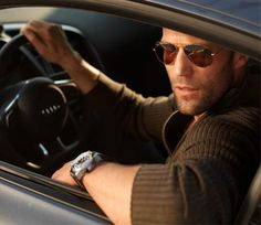 '' Jason Statham '' adorable style ♡ always combine with sunglasses ♡