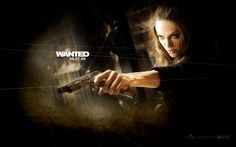 Angelina Jolie Wanted Movie Wallpaper