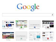 Chrome introduce una nueva pestaña experimental con una barra de búsquedas de Google
