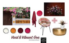 Vivid and vibrant Goa – a moodboard inspired by the seaside streets of Indias' Goa by Goa, Mood Boards, Seaside, Vibrant, India, Inspired, Inspiration, Home Decor, Biblical Inspiration