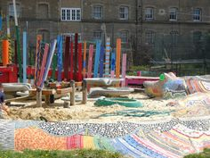 Glamis Adventure Playground, Shadwell, London   Playscapes