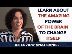 David Laroche is interviewing Anat Baniel, founder of Anat Baniel Method and Author. She affirmed that humain brain has remarkable potentials. Baniel works w. Feldenkrais Method, Change My Life, How To Find Out, Brain, Interview, Author, Education, Learning, Amazing