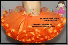 2 SEWN Tutu Patterns My 1st Tutu and by PrincessAveriesTutus, $11.00