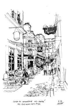 from My Paris Sketchbook