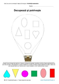 Pin on Iepurași Montessori Activities, Preschool Worksheets, Toddler Activities, 2d And 3d Shapes, Geometric Shapes, Shapes For Toddlers, Cool Kids, Coloring Pages, Kindergarten