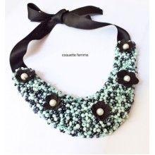 PearlFlower Necklace Jewelry Collection, Style, Fashion, Moda, La Mode, Fasion, Fashion Models, Trendy Fashion