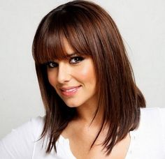 The medium bob hair style is very safe and versatile cut that fits the looks and…