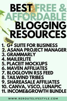Wondering how you can start a blog for free? We're digging into the free (and affordable) blogging resources we use to make our blogs profitable. Get a look into these blogging tools (and tips) to make money blogging. #blogging #blogging101 #startablog