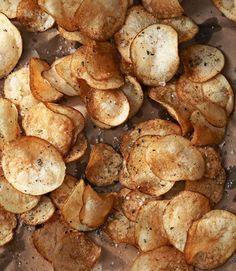 Crispy Rosemary Potato Chips  - CountryLiving.com