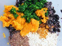 Cajun Spiced Black Bean and Sweet Potato Burgers