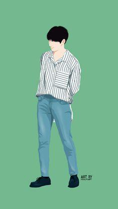 Hwang minhyun fanart People Illustration, Illustration Art, Make Theme, Korea Boy, Kpop Drawings, Korean Fashion Men, Human Art, Drawing Clothes, Boy Art