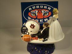 Auburn Helmets Cake Topper