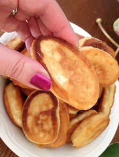 Bosnian Pancakes (Ustipci). Delicious!