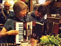 Local Musicians - Enid & Mike Walton Lands End, Musicians, Folk, Music Instruments, Spaces, Popular, Music Artists, Musical Instruments, Fork