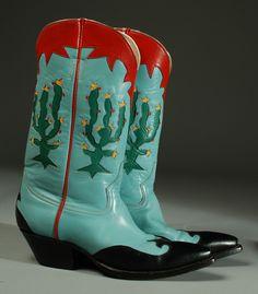 Vintage Rocketbuster Boots | Colonial Arts