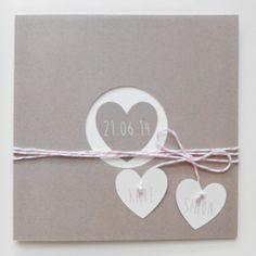 "Faire-part de mariage ""Kraft Coeur"" Wedding Cards, Diy Wedding, Wedding Day, Wedding Stationery, Wedding Invitations, Tie The Knots, Wedding Pictures, Invitation Cards, Save The Date"
