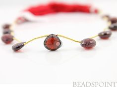 Natural NO TREATMENT Genuine African Garnet AAA by Beadspoint, $20.99