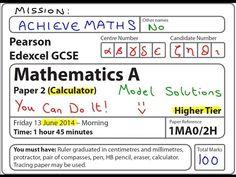 mathematics p2 common test june 2014 grade12