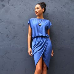Make your own designer-inspired tulip or wrap dress for $15 and in under 2 hours. Find theull tutorial to make this dress in any size here.
