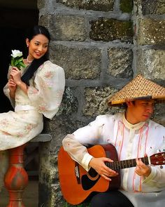 "Harana is a Tagalog word meaning ""serenade."" It is one of the many romantic gestures a Filipino man can do for a woman (another is picking up her intentionally-dropped handkerchief)."