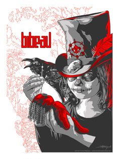 Tour poster for Bibeau