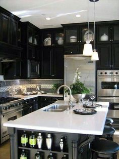 Like the top cabinets