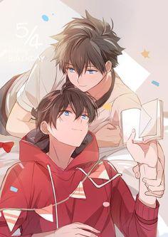 Embedded Top Anime, Manga Anime, Anime Siblings, Detektif Conan, Cute Kawaii Animals, Kaito Kid, Anime Songs, Magic Kaito, Cute Anime Guys