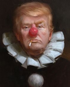 Trump the Clown by Tony Pro. For more great pins go to @KaseyBelleFox
