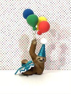 Faultier Geburtstag Tier Cake Topper Faultier Geburtstag Regenwald